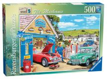 Ravensburger 14199 Happy Days at Work The Mechanic 500 Piece Adult Jigsaw Puzzle