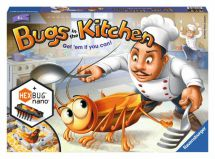 Ravensburger 22261 Bugs In The Kitchen Childrens Game With HEXBUG Nano 6+ Years