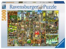 Ravensburger Colin Thompson's Bizarre Town Jigsaw Puzzle 17430