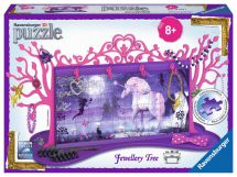 Ravensburger 12102 Colourful Unicorn Jewellery Tree 3D 108 Pieces Jigsaw Puzzle