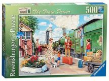 Ravensburger Happy Days at Work The Train Driver Jigsaw 14291