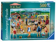 Ravensburger At The Beach 500 Piece Jigsaw Puzzle 14657