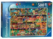 Ravensburger 14714 Toy Wonderama Colourful Jigsaw Puzzle 500 Pieces 10-18 Years