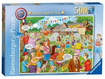 Ravensburger 14749 Best of British No 17 School Sports Day 500 Pieces Puzzle
