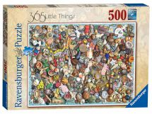 Ravensburger 14751 High Quality 365 Little Things 500 Pieces Jigsaw Puzzle Game