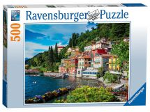 Ravensburger 14756 High Quality Lake Como Italy 500 Pieces Jigsaw Puzzle Game
