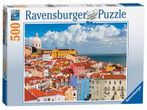 Ravensburger 14757 High Quality Lisbon Portugal 500 Pieces Jigsaw Puzzle Game