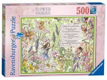 Ravensburger 14762 High Quality Flower Fairies 500 Pieces Jigsaw Puzzle Game