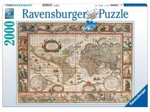 Ravensburger 16633 High Quality 2000 Pieces Globe Map of World Jigsaw Puzzle