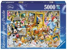 Ravensburger 17432 Disney Artistic Mickey 5000 Pieces Puzzle Jigsaw - Multi