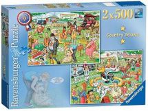 Ravensburger Best of British The Country Show 2 x Jigsaw 14073