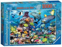 Ravensburger 19326 Jewels of the Sea 1000 Pieces Adults Large Jigsaw Puzzle New