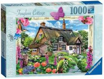Ravensburger 19313 Cottage Collection Foxglove Cottage 1000 Pieces Jigsaw Puzzle
