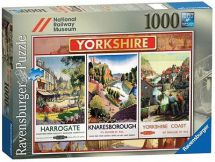 Ravensburger 19319 Railway Museum Yorkshire 1000 Piece Large Jigsaw Puzzle - New