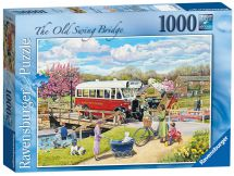 Ravensburger 19043 The Old Swing Bridge 1000 Piece Adults Jigsaw Puzzle - New