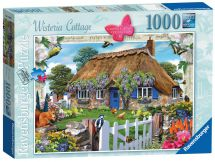 Ravensburger 19094 Country Collection Wisteria Cottage 1000 Piece Jigsaw Puzzle