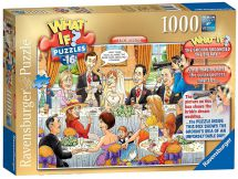 Ravensburger 19658 What if? No 16 The Wedding 1000 Pieces Jigsaw Puzzle Game