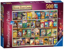 Ravensburger 14752 High Quality Vintage Travel Guides 500 Pieces Jigsaw Puzzle