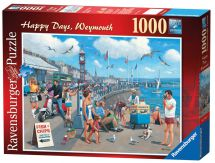 Ravensburger 19073 Happy Days Weymouth Vintage Style 1000 Piece Jigsaw Puzzle