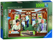 Ravensburger 19589 The Brighton Belle Colourful Jigsaw Puzzle 1000 Piece - New