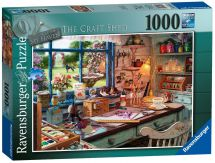 Ravensburger 19590 My Haven No 1 The Craft Shed Jigsaw Puzzle 1000 Piece - New