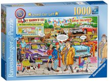 Ravensburger 19692 Best of British No 18 Used Car Lot 1000 Pieces Jigsaw Puzzle