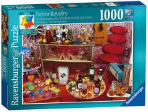 Ravensburger 19697 Perplexing Puzzles No 9 Retro Revelry 1000pc Jigsaw Puzzles