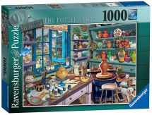 Ravensburger 19698 My Haven No 3 The Pottery Shed 1000 Pieces Jigsaw Puzzle