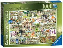 Ravensburger 19699 Country Life No 1 The 1900's 1000 Pieces Jigsaw Puzzle Game