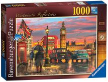Ravensburger 19716 Colourful Westminister Reflections 1000 Pieces Jigsaw Puzzle