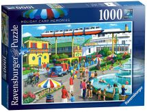 Ravensburger 19719 High Quality Holiday Camp Memories 1000 Pieces Jigsaw Puzzle