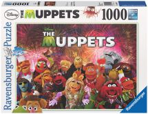 Ravensburger 19079 Jim Hensons The Muppets Cast 1000 Piece Jigsaw Puzzle - New