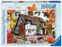 Ravensburger 19651 Country Cottage No 10 1000 Pieces Sedum Cottage Jigsaw Puzzle
