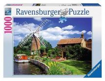 Ravensburger 15786 Windmill Country 1000 Pieces Adults Large Jigsaw Puzzle - New