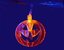 Qtx 155.521 Halloween High Quality Pumpkins Design LED Battery String Lights