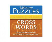 Holland Publishing  Five Minute Cross Word Puzzles 973H