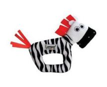 Lamaze LC27077 Baby Toy High Contrast Zebra Rattle Black & White Soft Texture