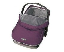 JJ Cole JUPBM Car Seat Baby Warmer BundleMe Plush Inner Quilted Plumberry Purple