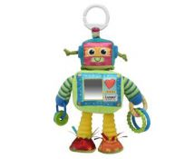 Tomy Lamaze LC27089 Play & Grow Baby Toy Robot Rattle Multi Colours & Textures