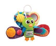 Tomy Lamaze LC27013 Play & Grow Baby Toy Jaques Peacock Multi Colours & Textures
