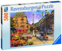 Ravensburger 14683 An Evening Walk Jigsaw Puzzle 500 Pieces 9+ Years - New