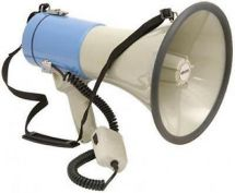 Adastra  Megaphone (25W Max) With Siren 952.016UK