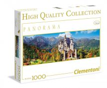 Clementoni 39283 Neuschwanstein 1000 Pieces Panorama High Quality Jigsaw Puzzle