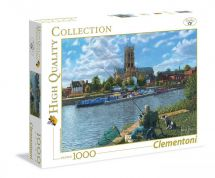 Clementoni 39315 Fishing with Oscar 1000 Pieces High Quality Collection Puzzle