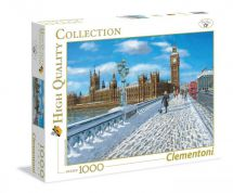 Clementoni 39320 London Promenade in the Snow 1000 Pieces High Quality Puzzle