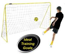 Kickmaster M06046 6 Foot Wide Football Training Goal Rust Resistant Steel & Net