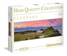 Clementoni 39342 High Quality 1000 Piece Panorama HQC Mark Gray Jigsaw Puzzle