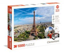 Clementoni 39402 High Quality 1000 Pieces Virtual Reality Paris Jigsaw Puzzle