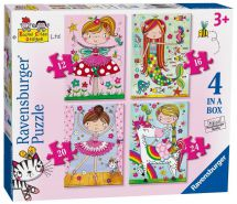 Ravensburger 06901 Colourfull High Quality Rachel Ellen Girls 4 in Box Puzzle