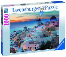 Ravensburger 19611 Stunning Photograph of Santorini Jigsaw Puzzle 1000 Piece New